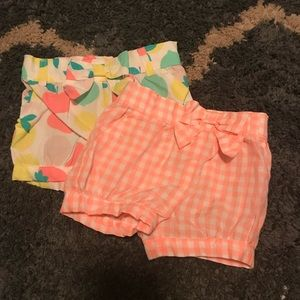 Other - Set of 3 pairs of Carter's Shorts